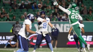 Argonauts take cautious approach with Arbuckle, Muamba