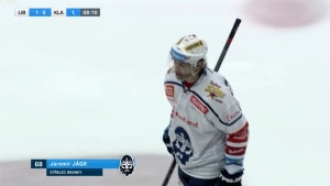 49-year-old Jaromir Jagr scores his first goal in his 34th pro season