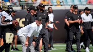 Saints enter Carolina game without eight assistant coaches