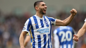 Brighton extends strong start with win over Leicester