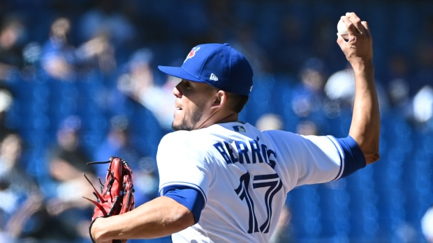 Early run support gives Blue Jays' Berrios win over former club