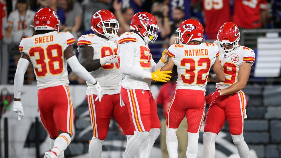 WATCH LIVE: Chiefs lead Ravens in second quarter