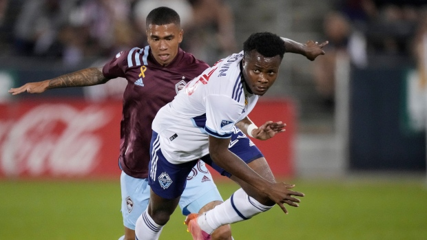 White pulls Whitecaps even in draw with Rapids