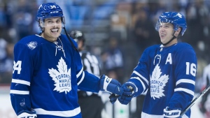 Leafs' Matthews, Marner focused on the present following another playoff disaster