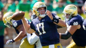 Notre Dame  Coan says reunion vs. Wisconsin will be 'weird'