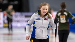 Brown atop women's standings with 3-0 record at Olympic curling pre-trials