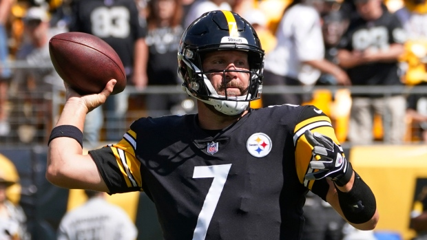 Roethlisberger dealing with pectoral issue
