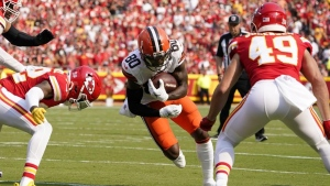 Browns put Landry on IR, receiver will miss at least three games