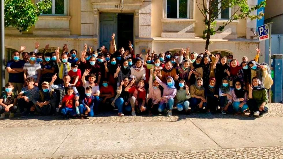 Afghanistan girls soccer team given asylum in Portugal