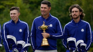 Europe's Ryder Cup team gets motivational history lesson