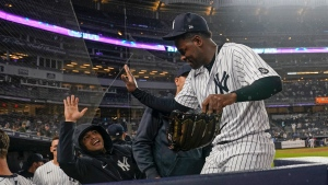 Two-time All-Star Severino returns to Yankees, works two innings in victory