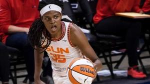 Sun's Jones named WNBA MVP heading into semifinals