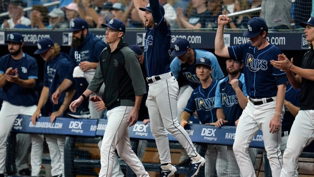Rays clinch playoff spot with win over Blue Jays