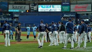 Kiermaier calls beanball 'weak,' wants to play Jays in playoffs