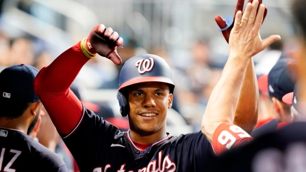 Soto takes over NL batting lead, Nationals beat Marlins
