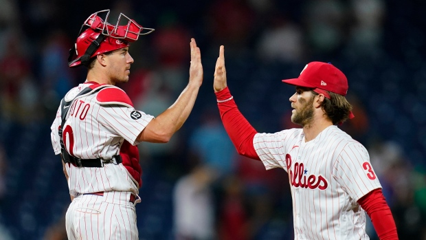Harper's throw to plate saves Phillies' in win over O's