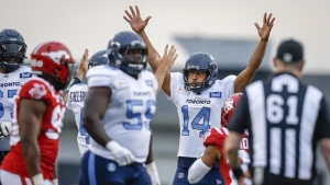 Argos K Bede says no axe to grind with Alouettes