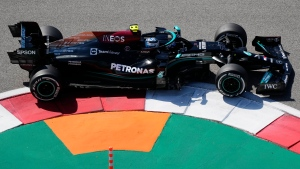 Bottas fastest in first practice for Russian GP