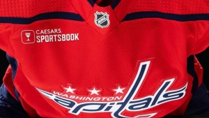 Capitals partner with Caesars Entertainment for jersey ads