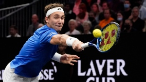 Ruud tops Opelka to give Team Europe early lead at Laver Cup