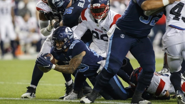 Bethel-Thompson throws two touchdown passes to lead Argonauts past Alouettes