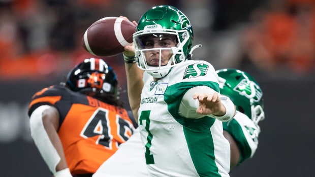 Last-minute Fajardo TD gives Roughriders victory over Lions