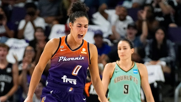 Three Canadians in WNBA playoffs second round hope to move the needle on TSN