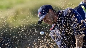 Koepka upset with officials after not getting relief