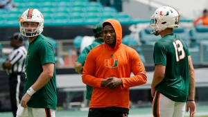 Hurricanes QB King out with shoulder injury