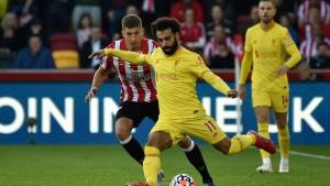 Salah gets 100th PL goal but Liverpool held at Brentford