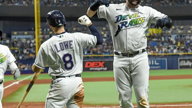 Rays clinch 2nd straight AL East title, beat Marlins