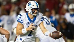 Rodriguez Jr. carries Kentucky past South Carolina