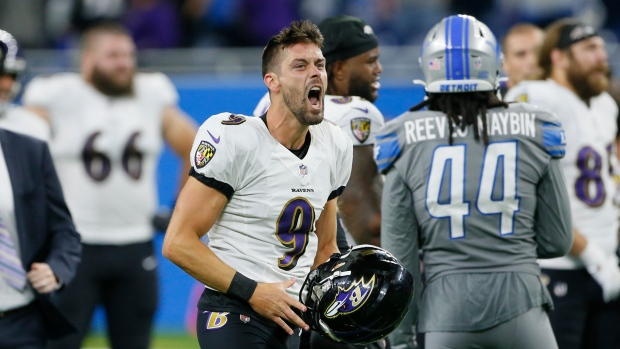 Tucker's NFL-record FG lifts Ravens to win over Lions
