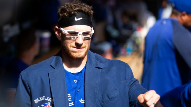 Jansen, Springer homer, Blue Jays beat Twins