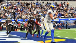 Rams' Stafford throws for four TDs, outduels Brady and Buccaneers