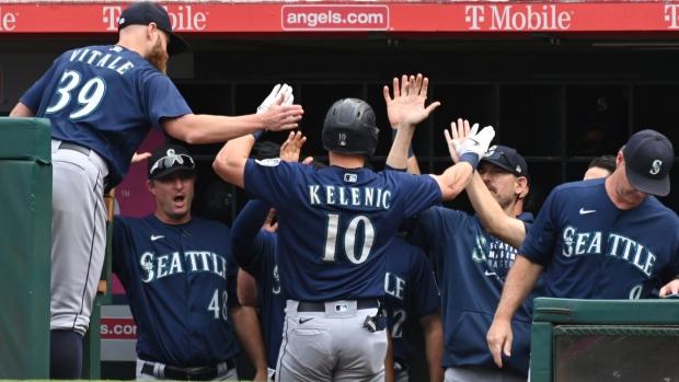 Mariners send Angels to losing season