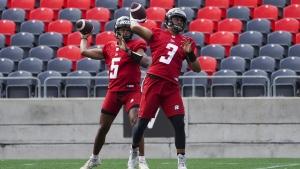 Both Redblacks and Elks to start rookie quarterbacks in clash