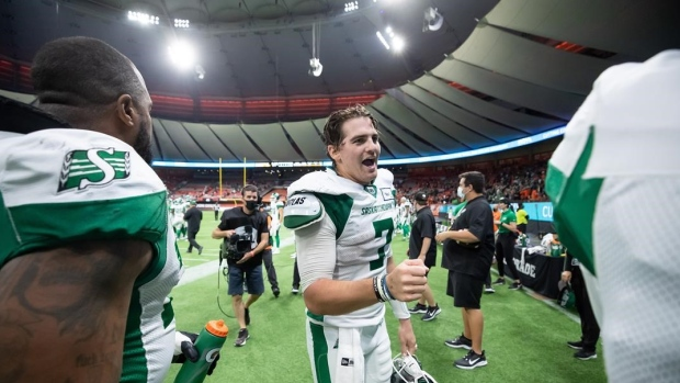 QB Fajardo, DB Richardson and RB Stanback named CFL's top weekly performers
