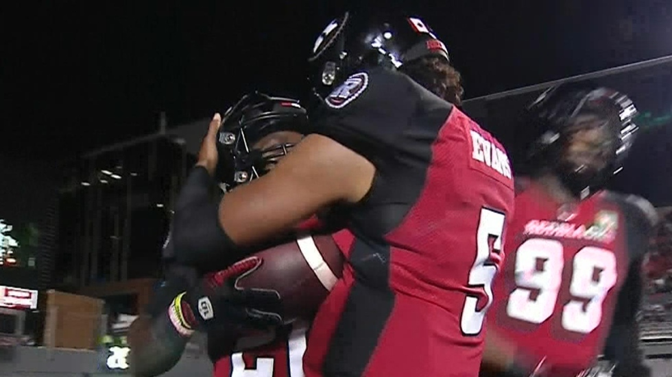 WATCH LIVE: Elks get themselves back in the game with TD in second quarter