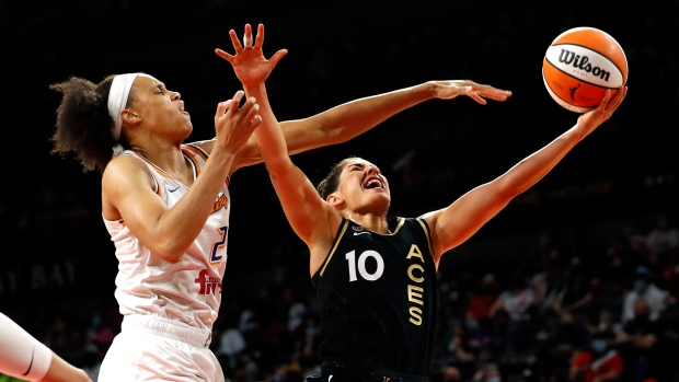 Aces' Plum wins WNBA Sixth Player of Year Award