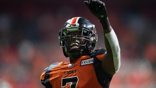 Lions Whitehead leads CFL top performers for September