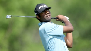 Theegala fires 64, leads at Sanderson Farms Championship