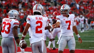 Stroud throws five TD passes, No. 11 Ohio State rolls