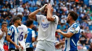 Espanyol ends Madrid's 25-game unbeaten streak in Spain