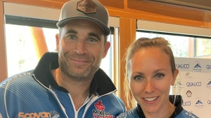 Homan, Morris win mixed doubles event in Banff