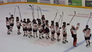 Canada's women's national team falls to Trail Smoke Eaters in exhibition