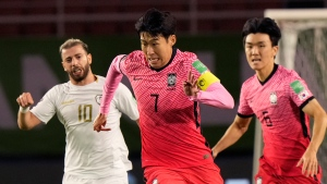 Son lifts unbeaten South Korea to qualifier win over Syria