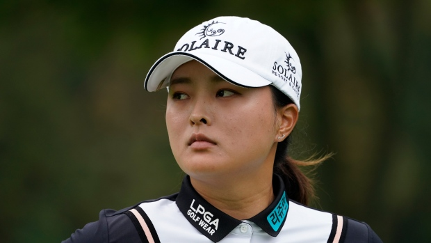Ko has early lead at Founders Cup, 11 straight rounds in 60s