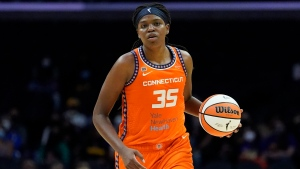 Sun's Jones the only unanimous selection in balloting for All-WNBA first team