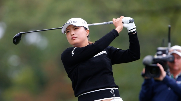 Ko gets 13th straight round in 60s, leads at Founders